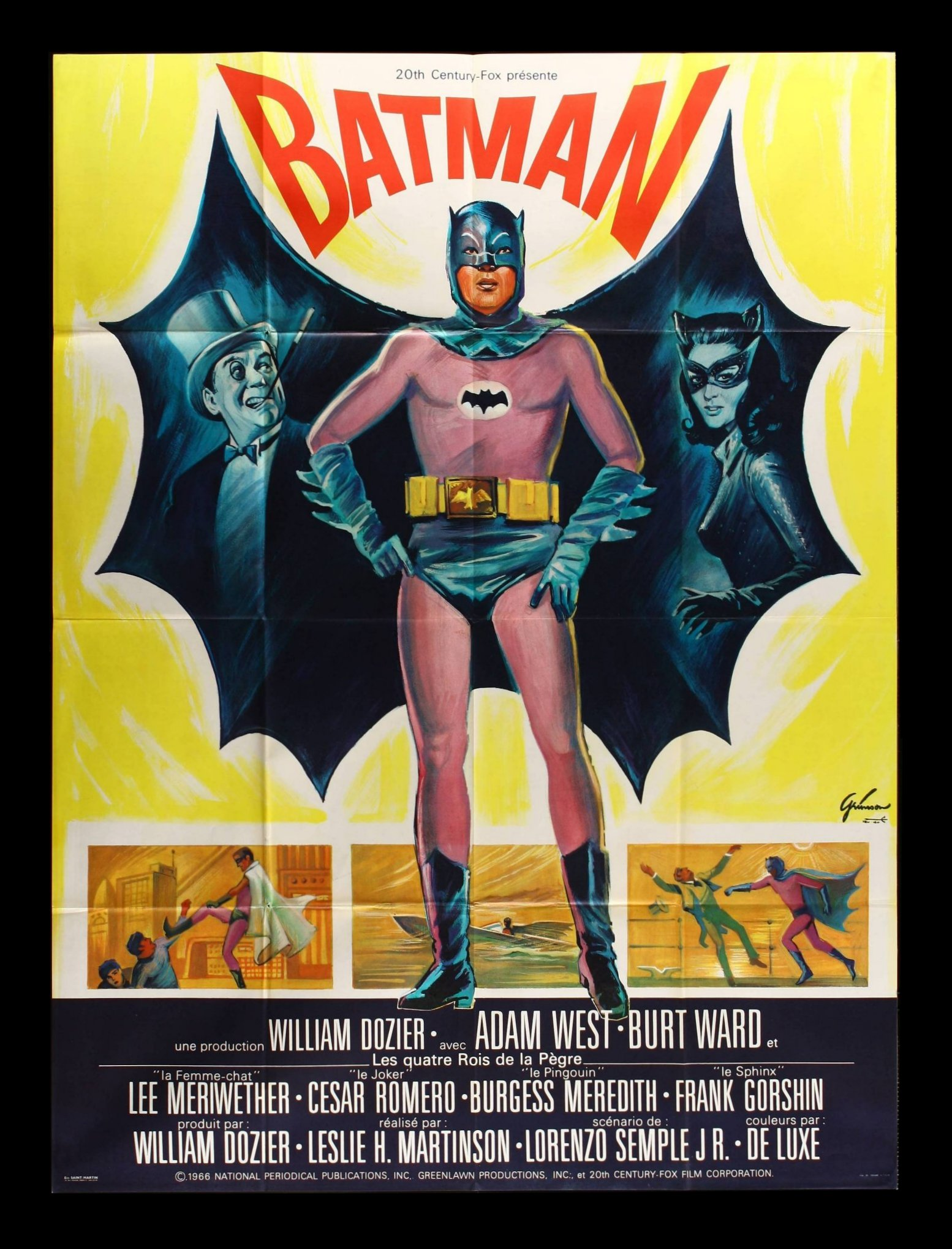 Early Batman Movie Poster