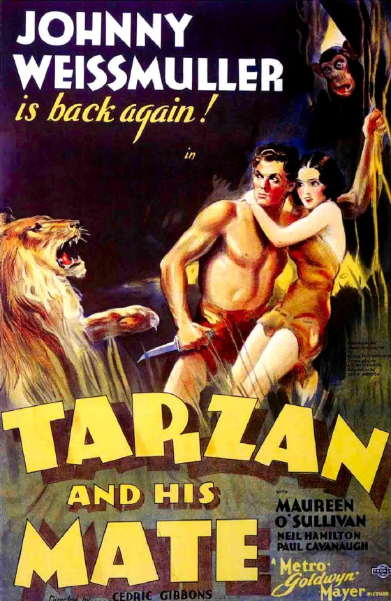 Vintage Tarzan And His Mate 1934